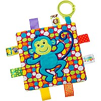 Taggies Crinkle Me Monkey-6.5x6.5""