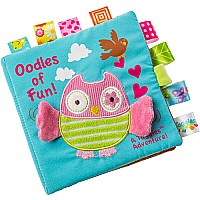 Taggies Oodles Owl Soft Book-6x6""
