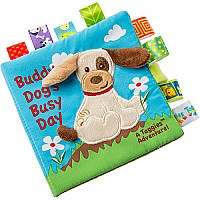 Taggies Buddy Dog Soft Book-6x6""