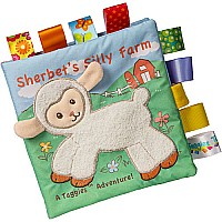 Taggies Sherbet Lamb Soft Book-6x6
