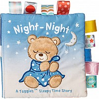 Taggies Starry Night Teddy Soft Book - 6x6""