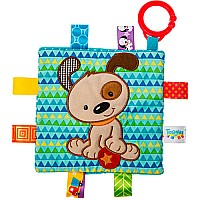 Taggies Crinkle Me Brother Puppy-6.5x6.5""