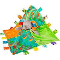 Taggies Little Leaf Elephant Character Blanket-13x13""