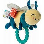 Taggies Fuzzy Buzzy Bee Teether Rattle - 5