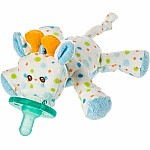 Little Stretch Giraffe WubbaNub Pacifier-6""