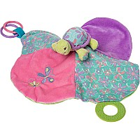 Tessa Turtle Activity Blanket-13x13""