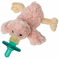 Blush Putty Duck WubbaNub Pacifier - 6""