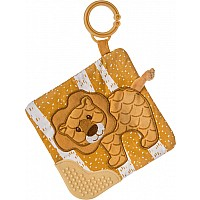 Afrique Lion Crinkle Teether - 6x6""