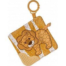 Afrique Lion Crinkle Teether - 6x6
