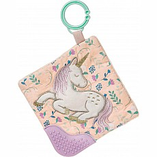 Twilight Baby Unicorn Crinkle Teether - 6x6""