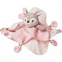 Itsy Glitzy Fawn Character Blanket - 13x13""