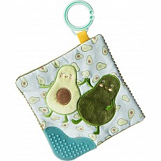 Yummy Avocado Crinkle Teether - 6x6