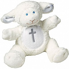 Christening Lamb Rattle - 5