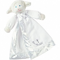 Christening Lamb Blanket-14""