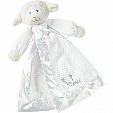Christening Lamb Blanket - 14""