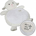 """Bless this Baby"" Lamb Baby Mat-31x23"""