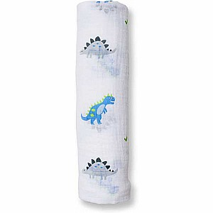 Cotton Muslin Swaddle - Prehistoric Pals