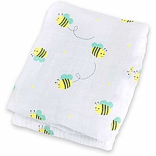 Bumble Bee Cotton Swaddle