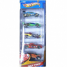 Hot Wheels 5 Car Gift Pack - Track Stunts (Assorted Vehicles)