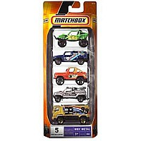 Matchbox 5-Pack Off Road