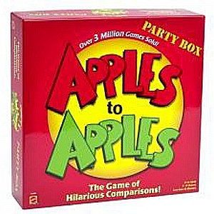 Apples to APPLES PARTY BOX the Game of Hilarious Comparisons!