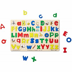 Upper and Lowercase Alphabet