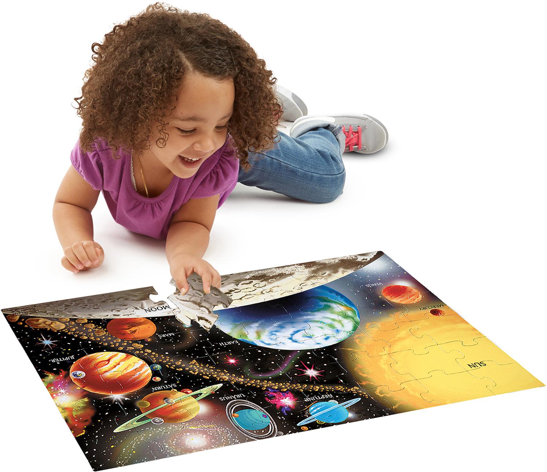 Solar System Floor 48 Pc Melissa Amp Doug Dancing Bear
