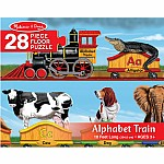 Alphabet Train Floor (28 pc)