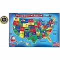 Melissa & Doug United States of America 51 Piece Floor Puzzle