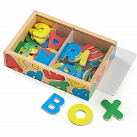 Magnetic Wooden Alphabet In Box