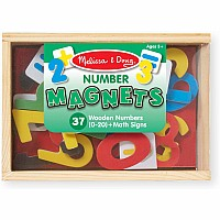 M&D Magnetic Wooden Numbers