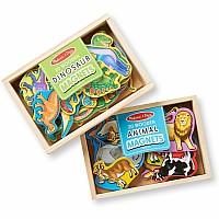 M&D Magnetic Animals & Box