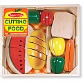 Wood Cutting Food Box