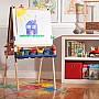 Deluxe Wooden Standing Art Easel Homewood Toy Amp Hobby