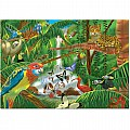0200 pc Rain Forest Cardboard Jigsaw