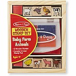 Baby Farm Animals Stamp Set