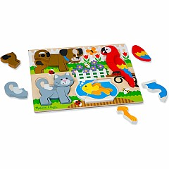Chunky Jigsaw Puzzle - Pets
