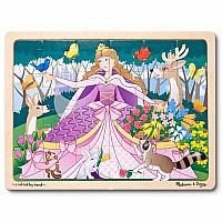 24 pc Woodland Princess Jigsaw Puzzle