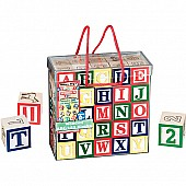 Blocks Wooden ABC 123 Pictures