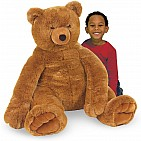 Brown Teddy Bear 30In