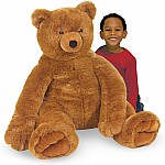 Jumbo Brown Teddy Bear  Plush