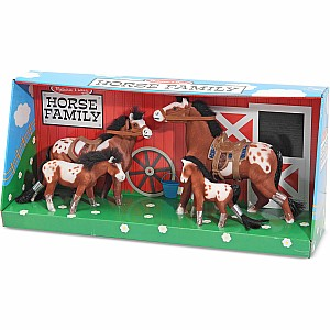 Collectible Horse Family Play Set