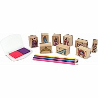 Princesses Stamp Set