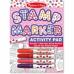Stamp Marker Activity Pad  Pink