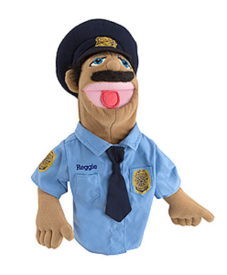 Police Officer Puppet Olde Towne Toys