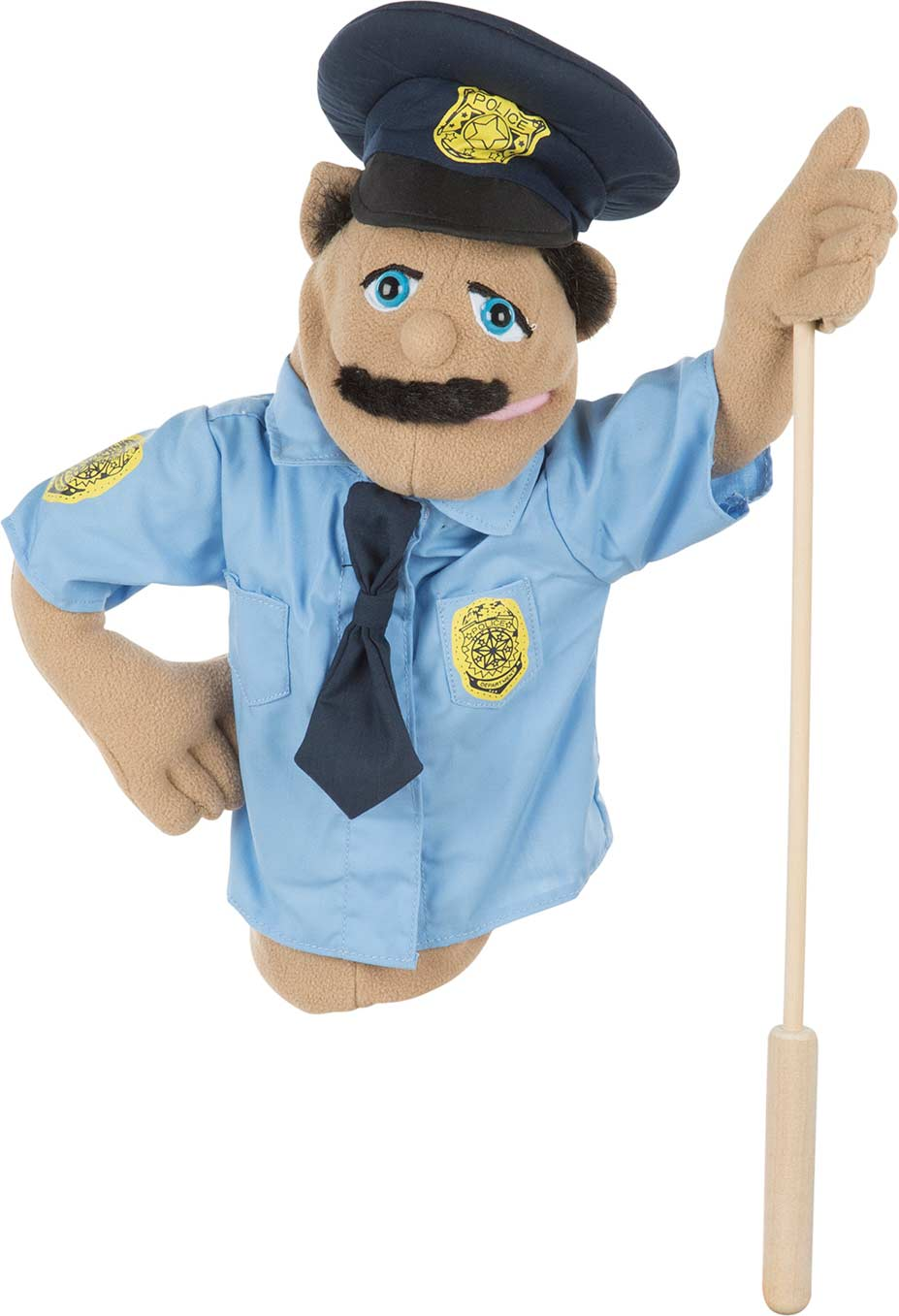 Police Officer Puppet Fun Stuff Toys