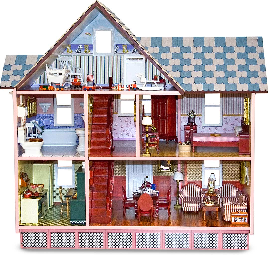 Victorian Dollhouse Givens Books And Little Dickens