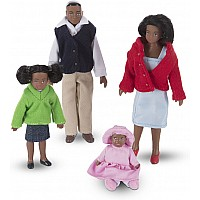 Victorian Doll Family (black)