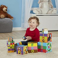 Alphabet Nesting  Stacking Blocks by Melissa & Doug