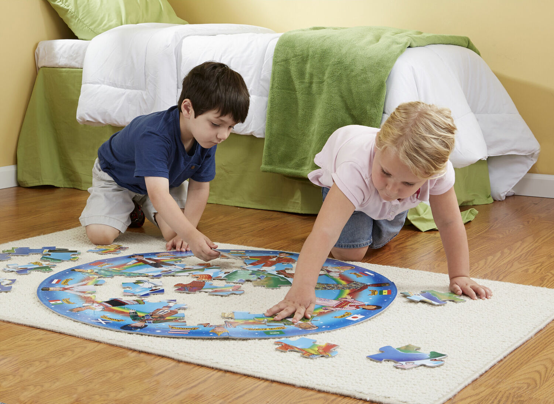 Children Around The World Floor 48 Pc 4 Kids Books Amp Toys